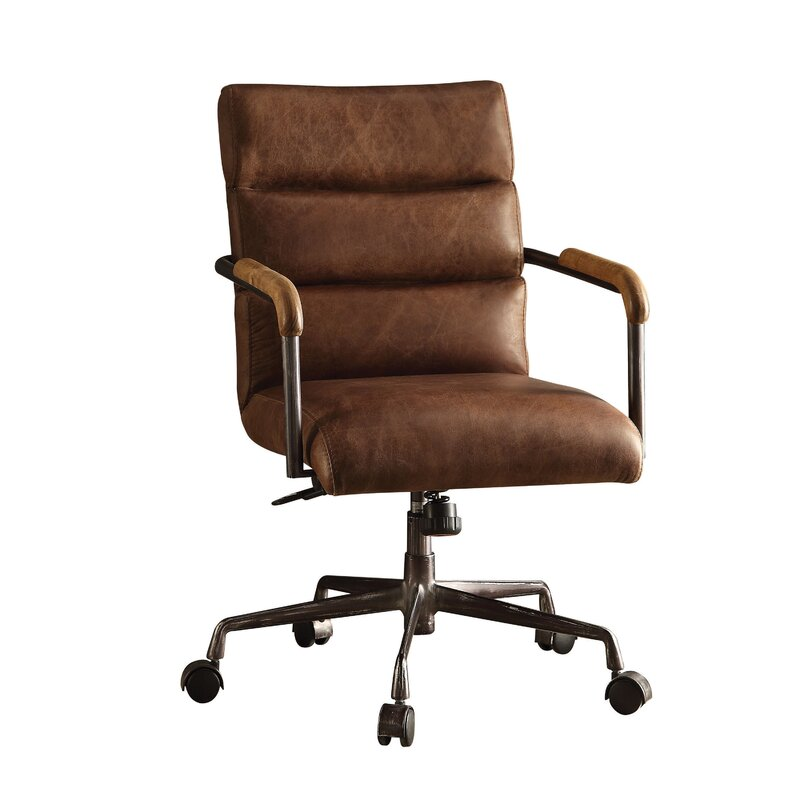 Marvelous Harith High Back Leather Executive Chair
