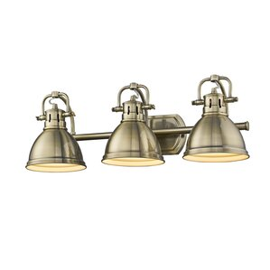 Bathroom Vanity Lights Brass brass bathroom vanity lighting you'll love | wayfair