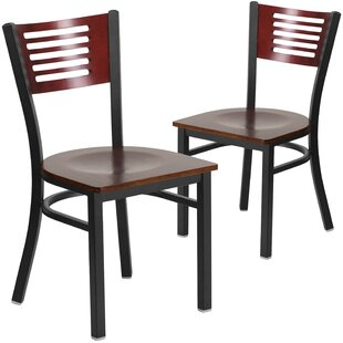 Britni Solid Wood Dining Chair (Set of 2)