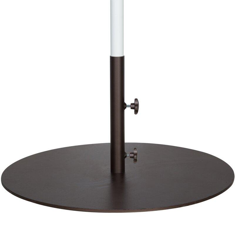 Elegant Round Steel Market Patio Umbrella Base