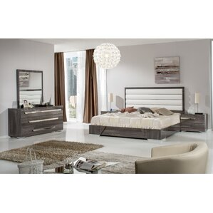 Leather Bedroom Sets You\'ll Love   Wayfair
