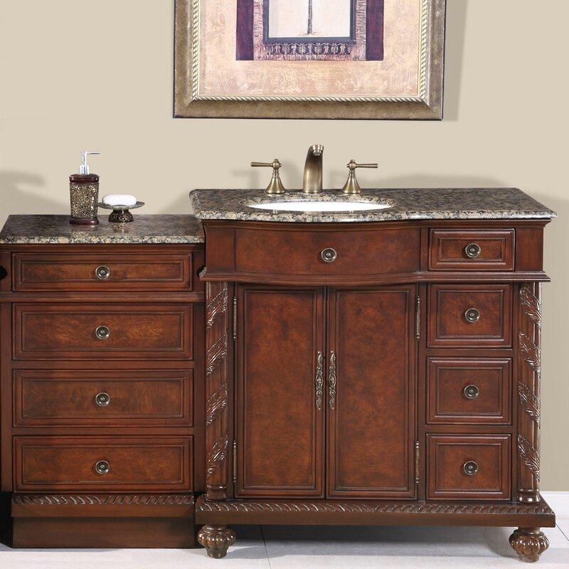 Brenneman 56 Single Bathroom Vanity Set