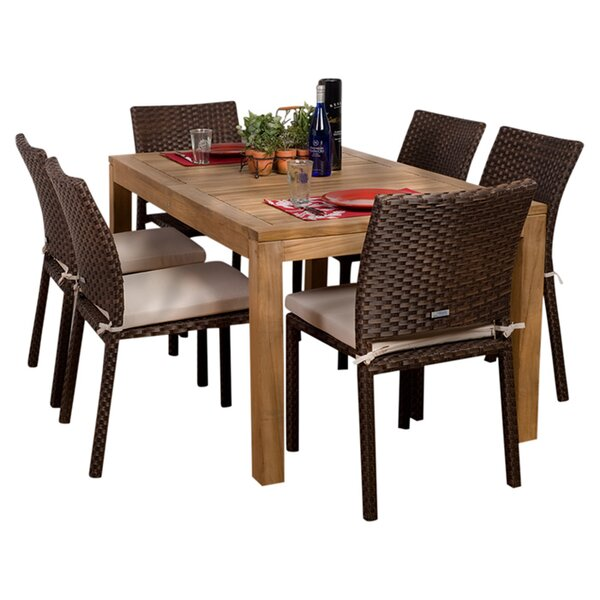 Wood Patio Dining Sets Youu0027ll Love | Wayfair