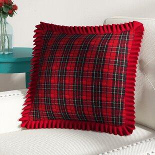 2f6fa06e1e Patil Holiday Plaid Throw Pillow