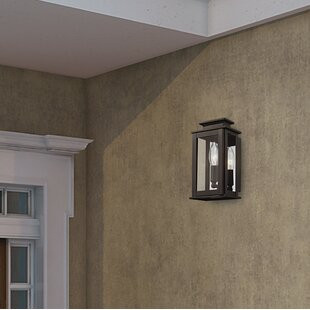 Solid brass outdoor lights wayfair farmingdale 1 light solid brass outdoor flush mount aloadofball Images
