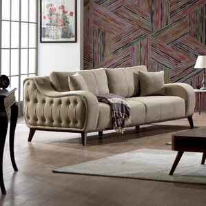 Danos Modern Loveseat by Brayden Studio