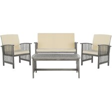 Alcazar 4 Piece Seating Group with Cushions