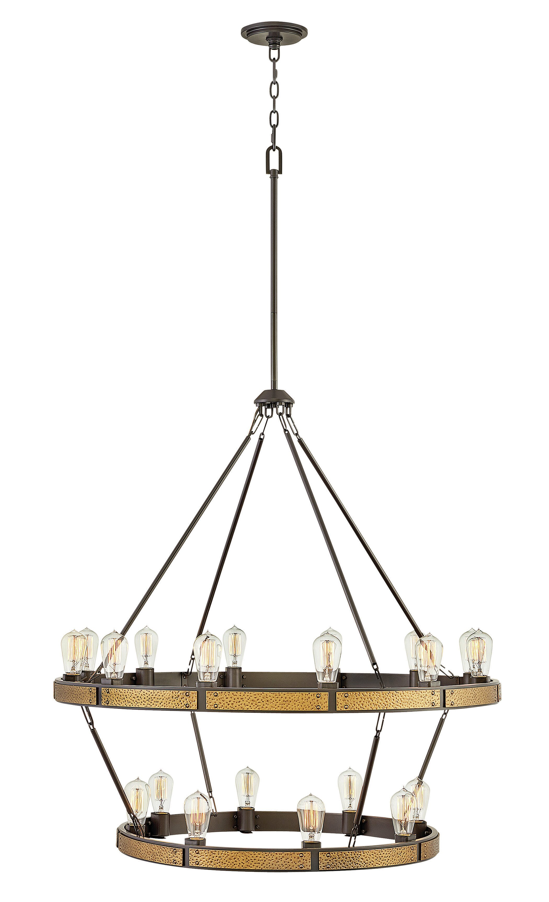 Hinkley lighting everett indoor 20 light lantern chandelier wayfair