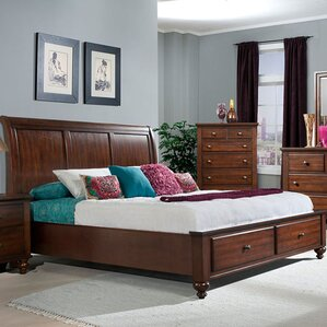 newport storage sleigh bed