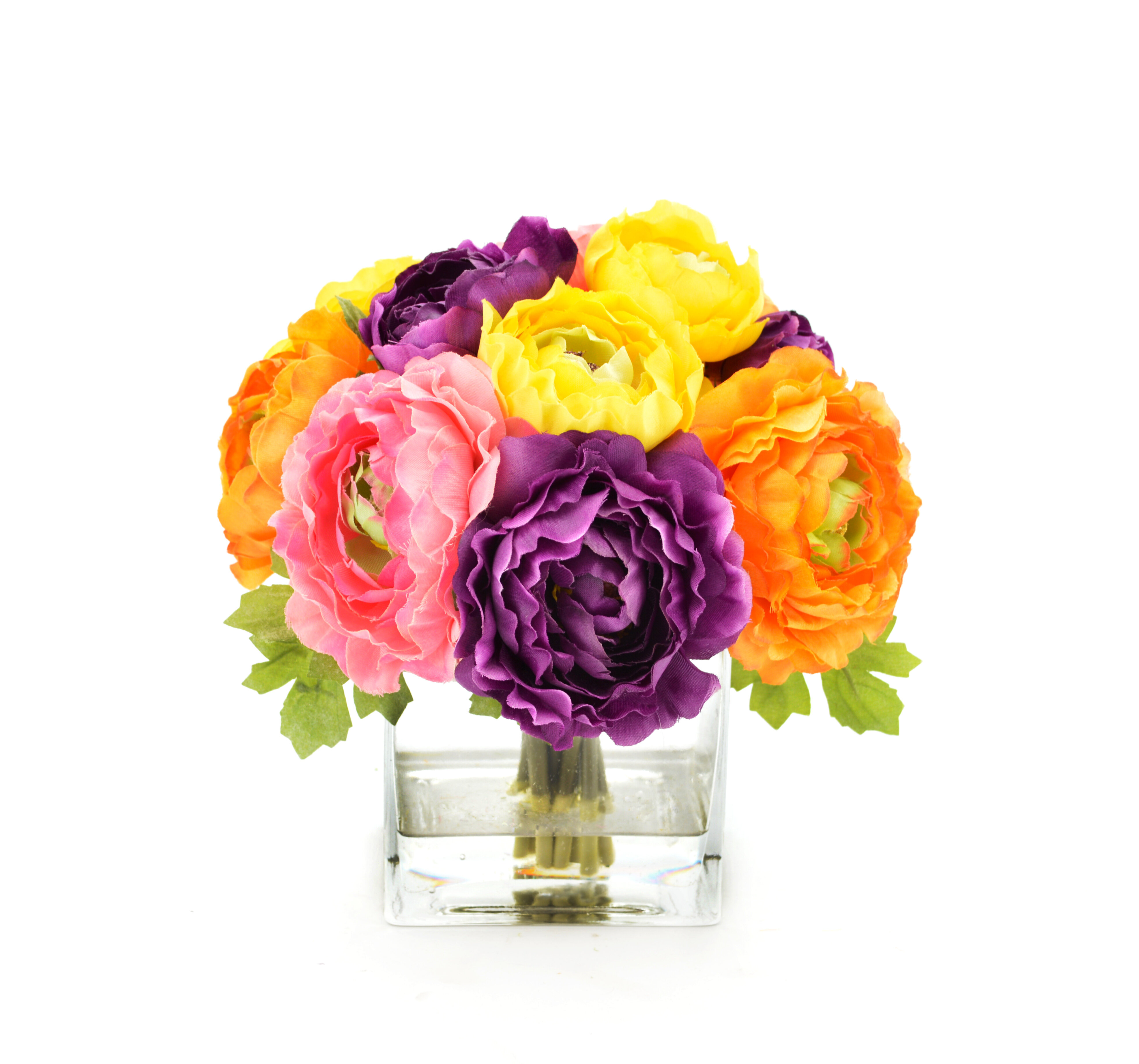 House of Hampton Mixed Ranunculus Bouquet & Reviews | Wayfair