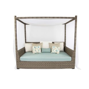 Palisades Viceroy Day Bed with Cushions  sc 1 st  AllModern & Modern u0026 Contemporary Outdoor Canopy Daybed | AllModern