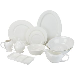 Maret Bone China 32 Piece Dinnerware Set, Service for 6