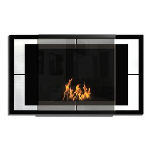 Decoflame Ambiance Wall Mount Bio-Ethanol Fireplace by PureFlame