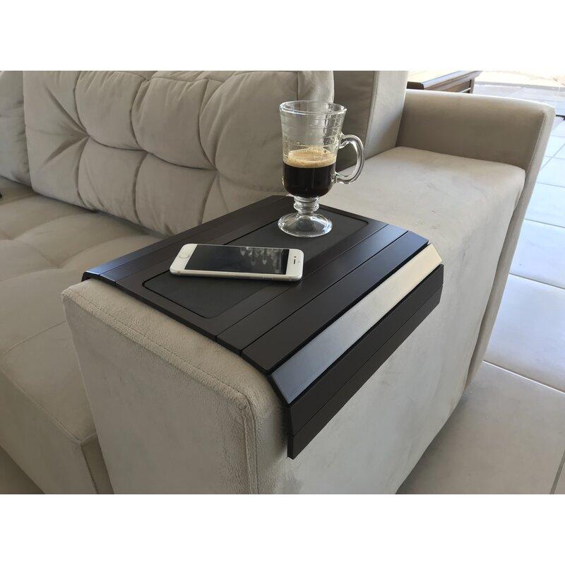 Winston Porter Ringling Base Sofa Arm Tray Reviews Wayfair