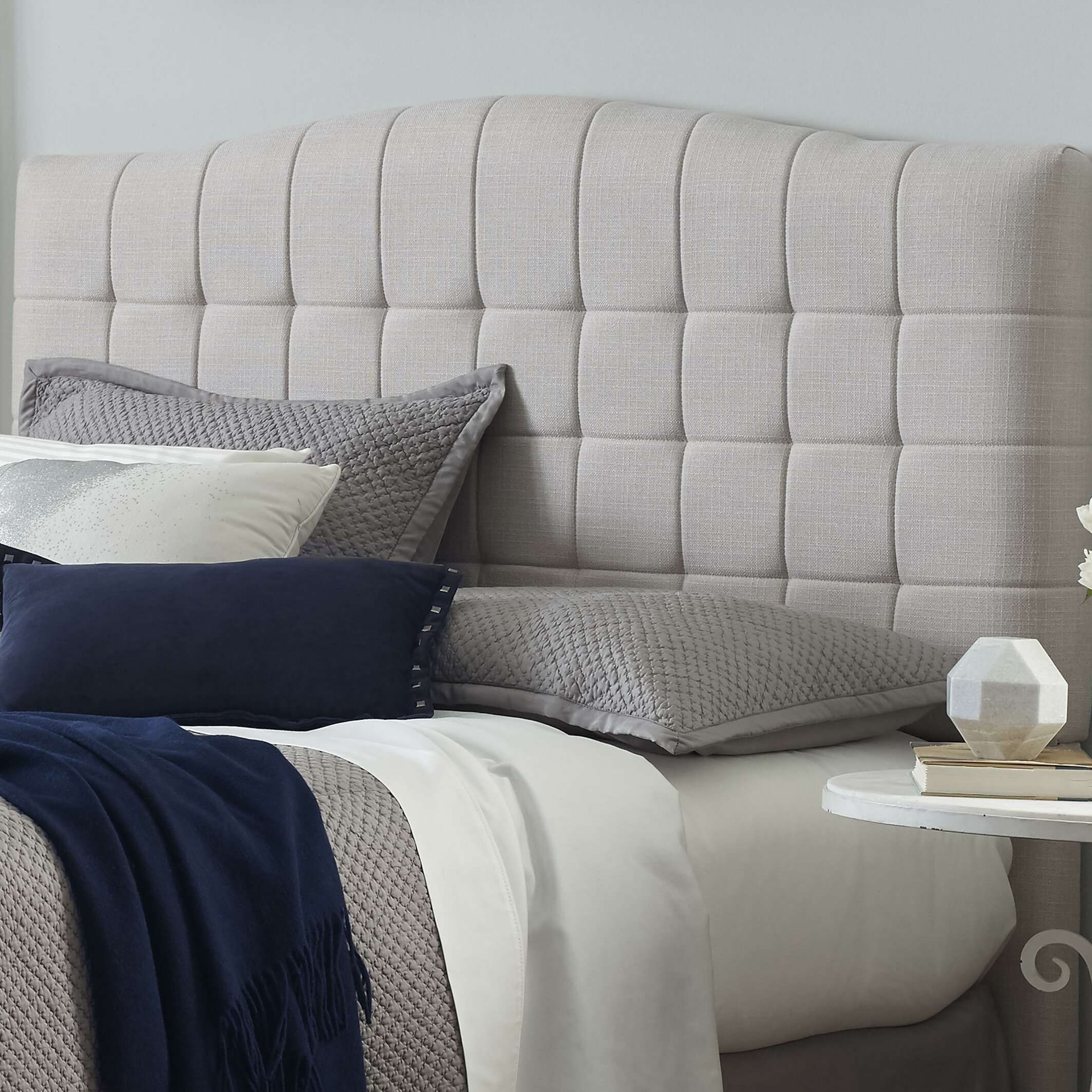 co headboard bed upholstered louis by linen lovely in company the beautiful