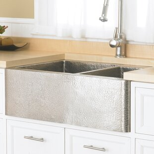 Hammered Nickel Farmhouse Sink Wayfair