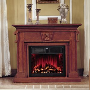 New Port Electric Fireplace by Lanza