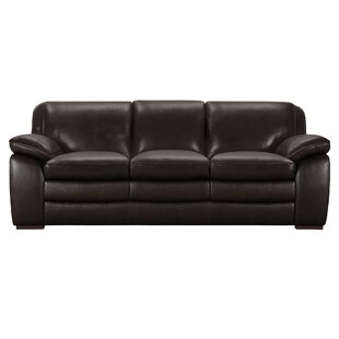 Talon Contemporary Leather Sofa