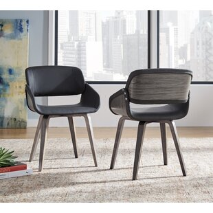 Poulan Upholstered Dining Chair (Set of 2)