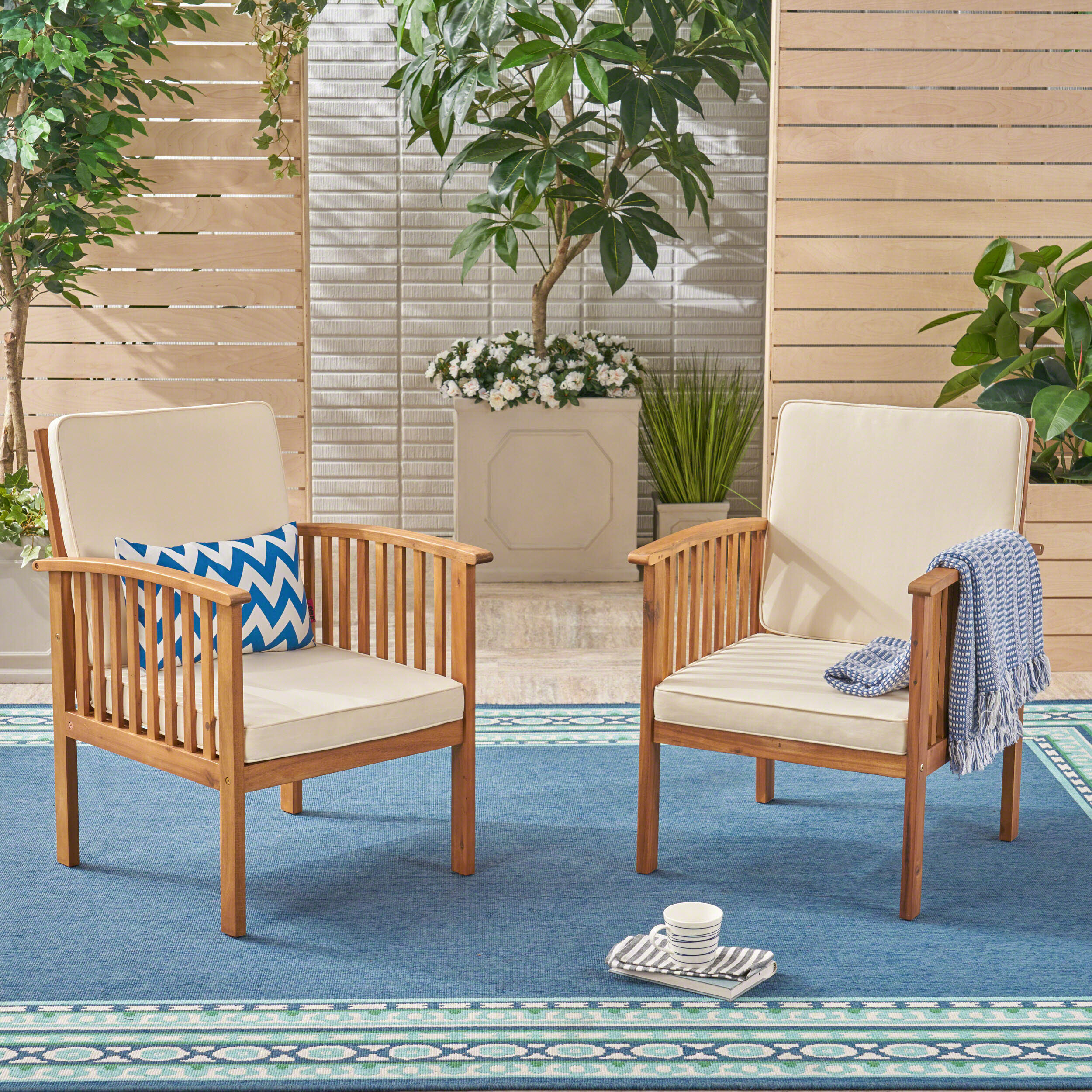 Exceptionnel Safira Outdoor Patio Chair With Cushions