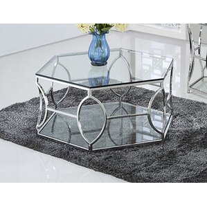 Octagon Coffee Table by BestMasterFurniture