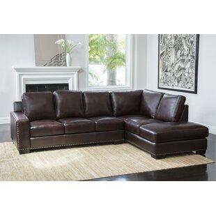 Mccaffrey Leather Sectional
