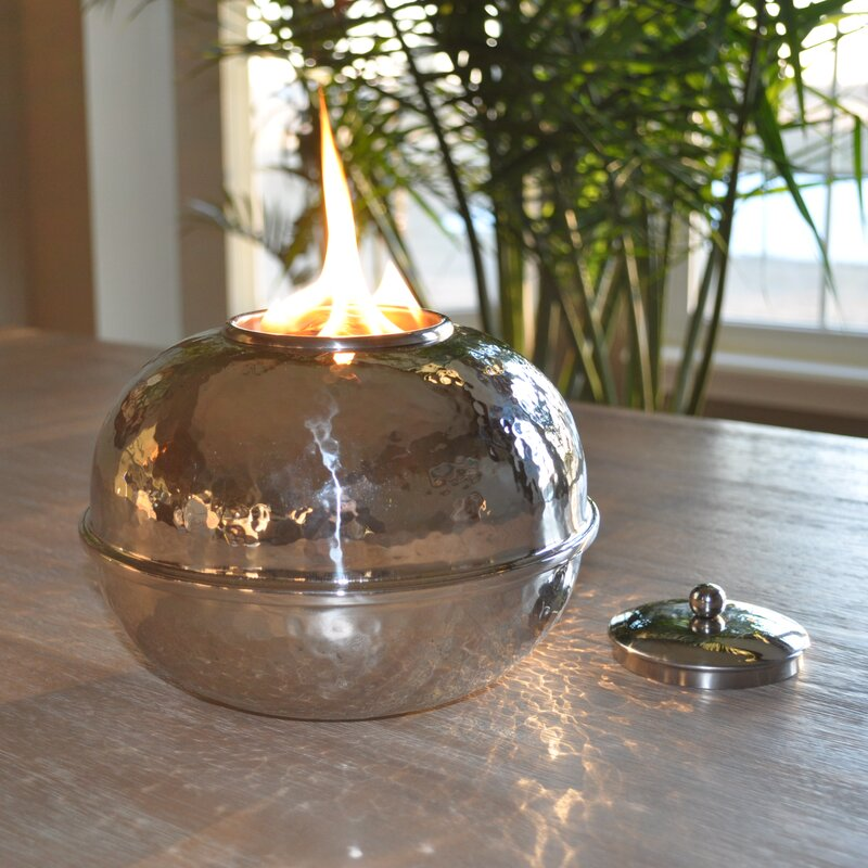 Charming Sydney Firepot Tabletop Torch
