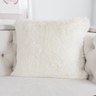 Fluffy White Throw Pillows Wayfair Ca