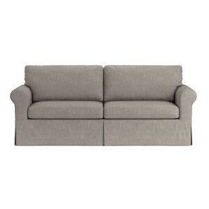 Garmon Box Cushion Sofa Slipcover by Three Posts