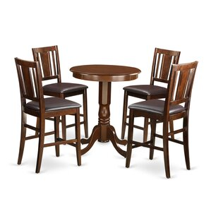 5 Piece Counter Height Pub Table Set by W..
