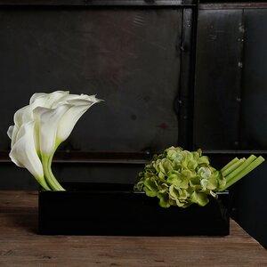 Hydrangeas/Lilies/Mixed Floral Arrangement in Decorative Vase