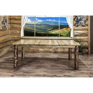 Tustin Table with Leaves by Loon Peak