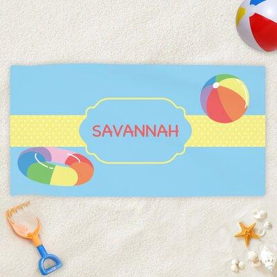 monogramonline inc pool fun personalized kids beach towel wayfair