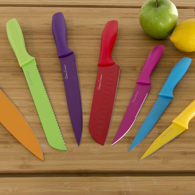 Classic Cuisine 14 Piece Knife Set Reviews Wayfair