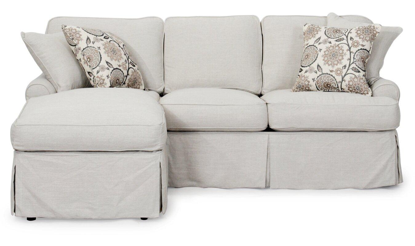 Callie T-Cushion Sofa Slipcover Set