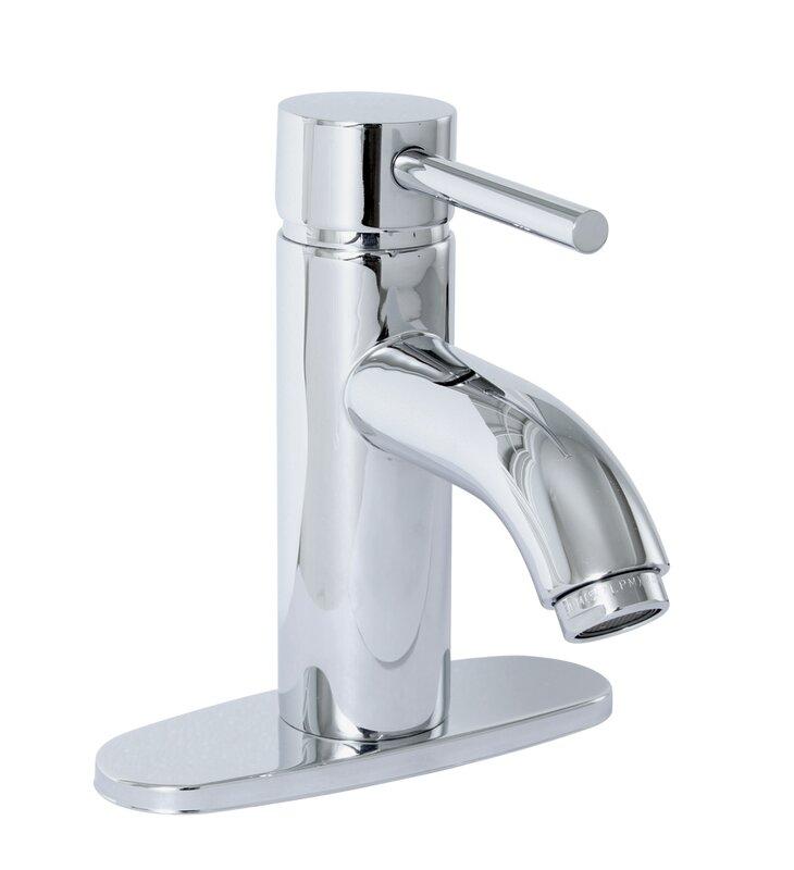 premier faucet essen single handle bathroom faucet & reviews | wayfair