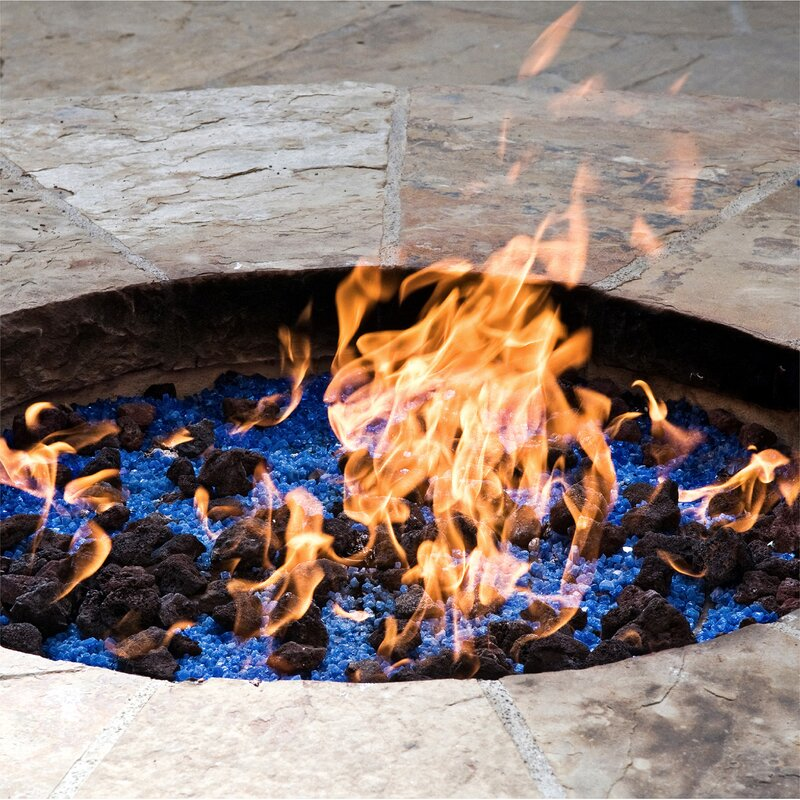 Lava Rock Natural Stones Fire Pit Glass - Fire Pit Essentials Lava Rock Natural Stones Fire Pit Glass Wayfair