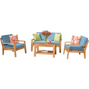 Surprising Woodland Park 4 Piece Sofa Set Wayfair Ca Inzonedesignstudio Interior Chair Design Inzonedesignstudiocom