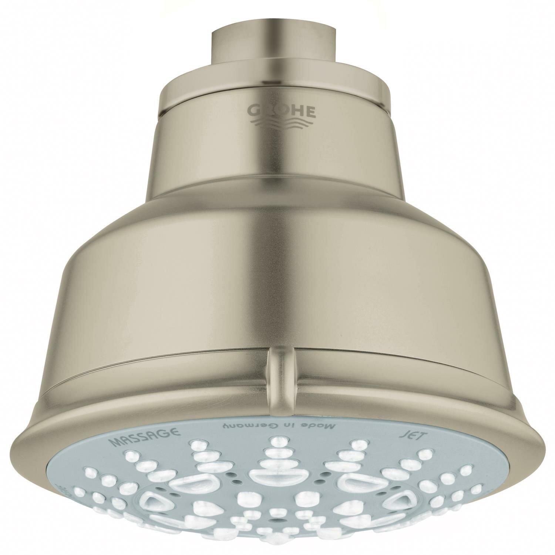 Grohe Relexa Rustic 100 5 Spray Multi Function Rain Shower Head