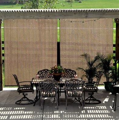 Symple Stuff Outdoor Roller Shade & Reviews | Wayfair