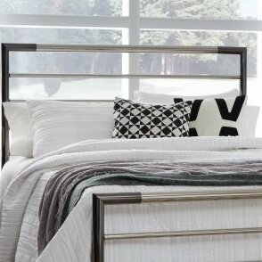 Cherwell Metal 2 Piece Open Frame Headboard And Footboard Set