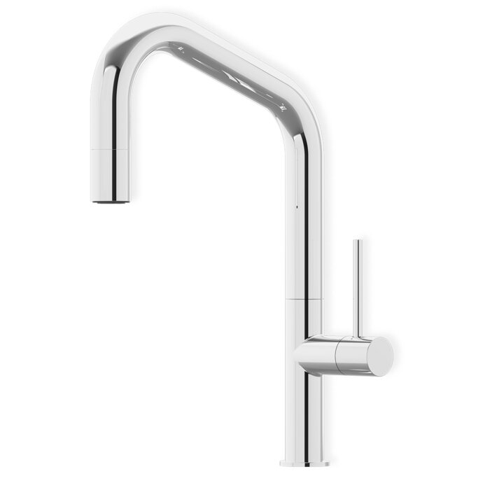 single handle spray out classic with product pull kitchen faucet collection