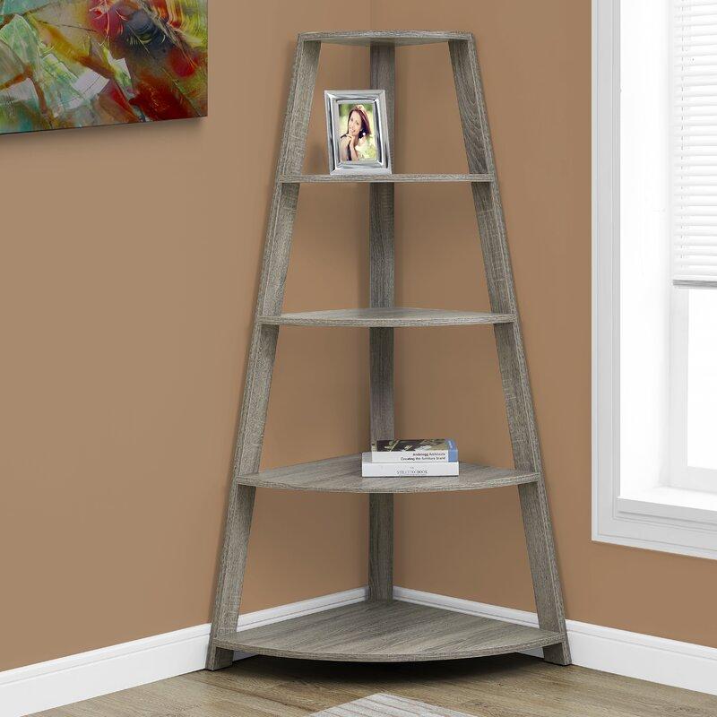Monarch Specialties Inc Belcher Corner Unit Bookcase