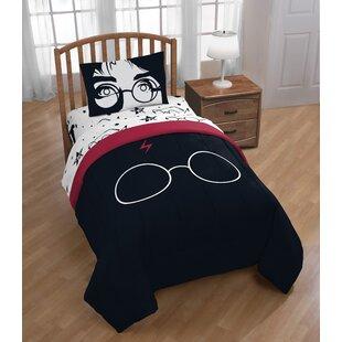 Harry Potter Always 4 Piece Reversible Comforter Set