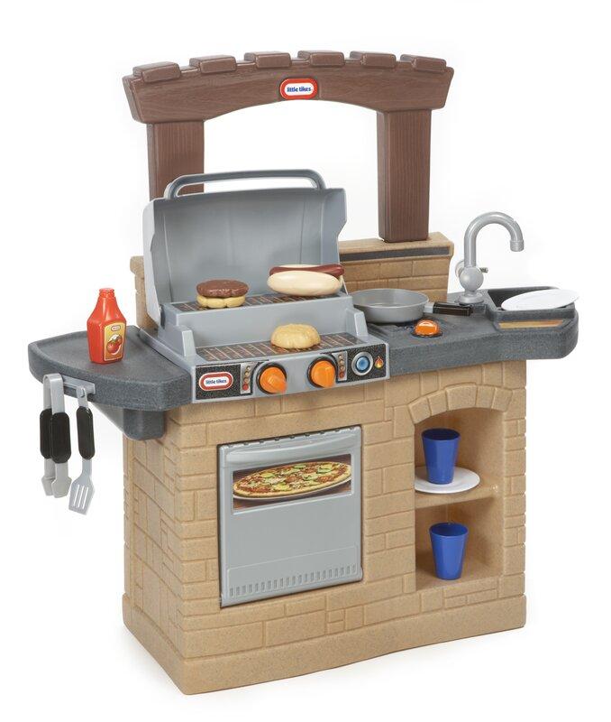 Little Tyke Kitchen Set: Little Tikes Cook 'n Play Outdoor BBQ™ Kitchen Set
