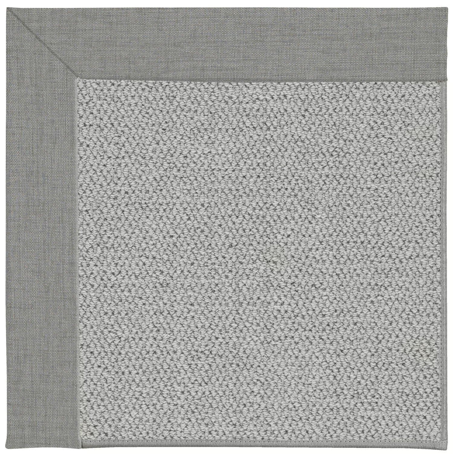 Inspirit Machine Tufted Steel Gray Area Rug By Capel Rugs