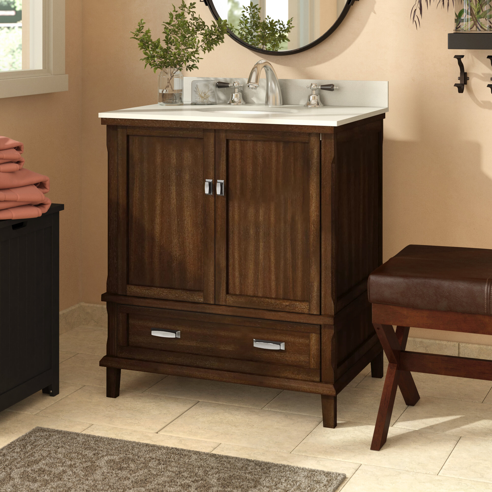 Red Barrel Studio Ka 30 Single Bathroom Vanity Set Reviews