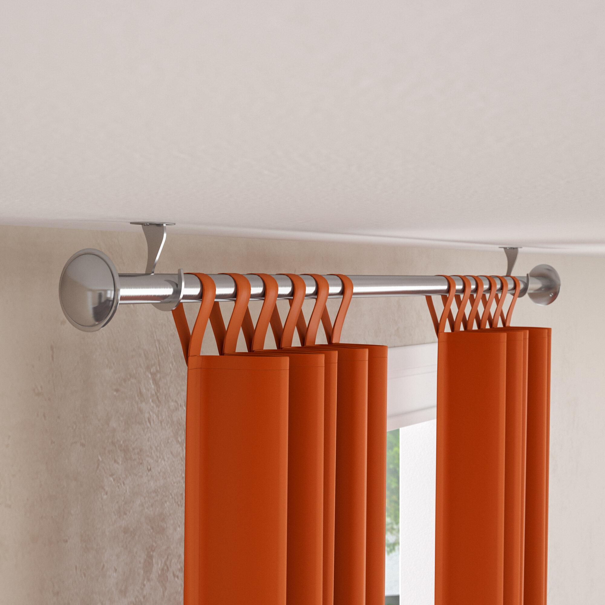 Christiansburg Indoor Outdoor Single Curtain Rod Reviews Birch Lane