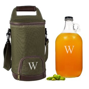 Personalized Insulated Growler Cooler with Growler