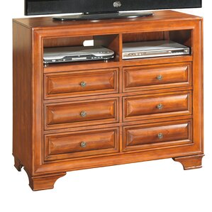 Terrie 6 Drawer Media Chest by Darby H..